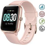 Smartwatch Orologio Fitness Donna, UMIDIGI Uwatch3 Fitness Tracker Bluetooth Smart Watch Donna Uomo Bambini Ca
