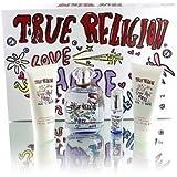 True Religion Love Hope Denim Gift Set 4 Pc. Edp.3.4 Fl.oz 100ml+edp 0.25 Fl.oz +Body Lotion & Shower GEL 3.0...