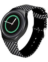 Samsung Galaxy Gear S2 SM-R720 correas para reloj - Sannysis correas para relojes, Silicona de Banda, color C