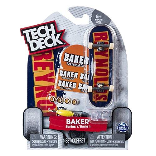 Tech Deck - 6028846 - Pack de 1 Finger Skate - Modèle Aléatoire