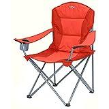 Vango Samson Oversized Chair - BELASTBAR BIS 180 KG - rot