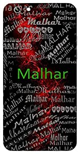Malhar (A Raga Used In Indian Music) Name & Sign Printed All over customize & Personalized!! Protective back cover for your Smart Phone : Samsung Galaxy A-5