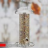 dasmöbelwerk Vogel Futterstation Futterspender Vogelfutter Vogelhaus Futterstelle Edelstahl oder Plexiglas 5431 (Plexiglas)