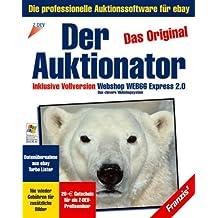 """Der Auktionator 2.0, CD-ROM Das Original. Die professionelle Auktionssoftware für eBay. Inkl. """"Webshop Web66 Express 2.0"""". Für Windows 95/98/2000/NT/Me/XP"""
