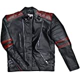 German Wear Leder Motorradjacke Oldschool Retro