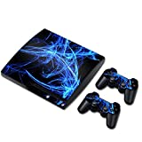 Laixing TN0117*Skin Sticker Cover per PS3 PlayStation 3 Slim+2 Controllers