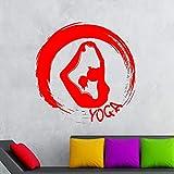 guijiumai Dctal Bouddha Citations Namaste Stickers Muraux Yoga Mandala Stickers...