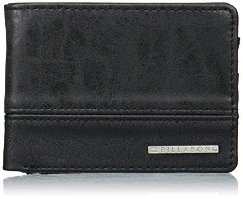 Billabong Dimension, Bolsa y Cartera para Hombre, Negro (Black), 1.8x9x12 cm (W x H x L)