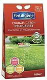 Fertiligène Engrais Gazon Pelous'Net Limite Les Mauvaises Herbes, 180 m²