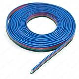 LED RGB Kabel 4-adrig Verlängerungskabel Anschlusskabel 1m