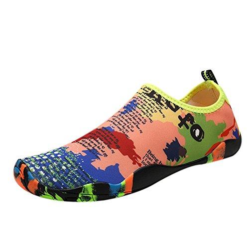 Zilosconcy Socken Wasserschuhe Barfuß Yoga Schnell Trocken Surfen Schwimmen Schuhe für Damen Herren Badeschuhe Wassersportschuhe Strandschuhe Surfschuhe Aquaschuhe Beach Yoga Schuhe für Wassersport