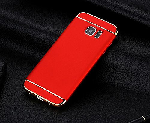 QINPIN Electroplate Hard Shockproof Case Cover für Samsung Galaxy S7 Edge/S7/Note 5