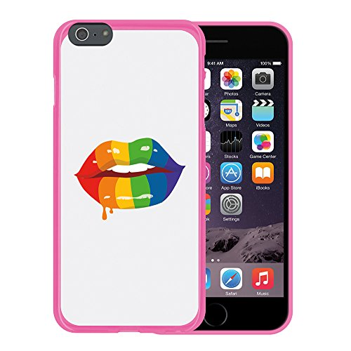 "WoowCase Hülle Case für { iPhone 6 Plus 6S Plus } Handy Cover Schutzhülle Satz - ""I Love You To The Moon And Back"" Housse Gel iPhone 6 Plus | 6S Plus Rosa D0344"