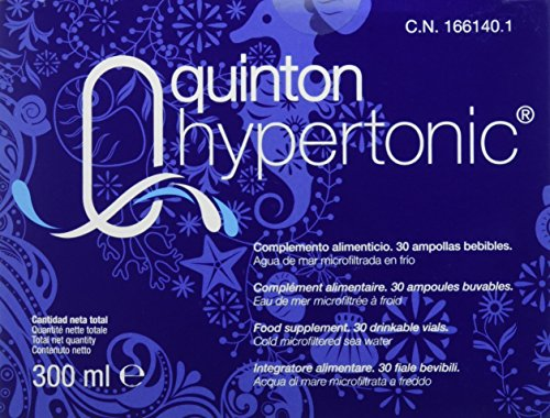 Quinton Hipertónico - 30 Ampollas