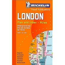 Michelin Karte London, Plan and index, Atlas (Michelin City Plans)