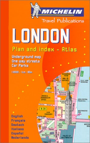 Plan de ville : Londres par Plans de Ville Michelin Europe