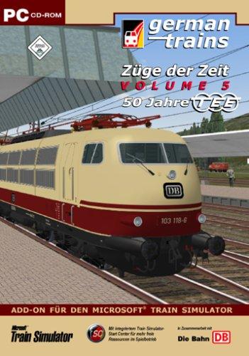 Preisvergleich Produktbild German Trains - Züge der Zeit 5 - 50 Jahre TEE (PC)