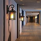 Alt antikes Haus Glas Lampenschirm Wand Lampe Schlafzimmer Living Zimmer Korridor Gang Bar Cafe Hotel Romatic Mauer Licht innen zuhause Mall Dekor Vintage Wandlampen,A