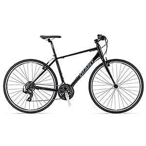 Giant Escape 3 Hybrid Transit Sport Bicycle, Men's Large (Black/Blue)