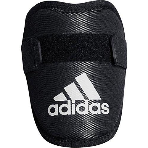 adidas az9656Pro Series Baseball Elbow Guard, Schwarz, Weiß, One Size -