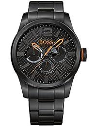 BOSS Orange Herren-Armbanduhr PARIS Multieye Analog Quarz Edelstahl beschichtet 1513239