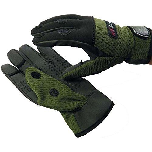 Behr Neopren Handschuhe Sibirian-Pride, Angelhandschuhe, Anglerhandschuhe