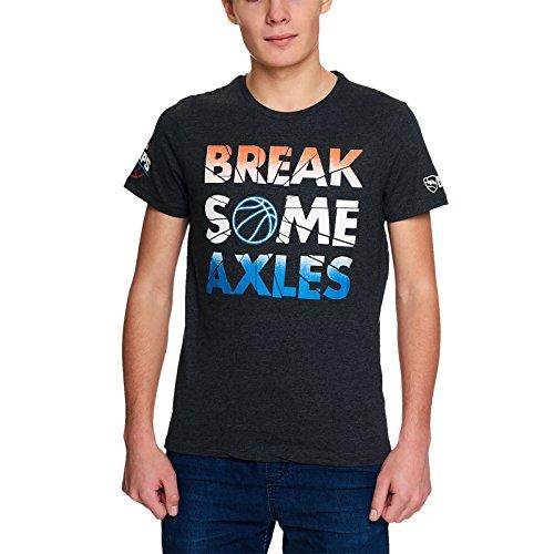 Rocket League Break Some Axles T-Shirt Dunkelgrau Meliert Grau