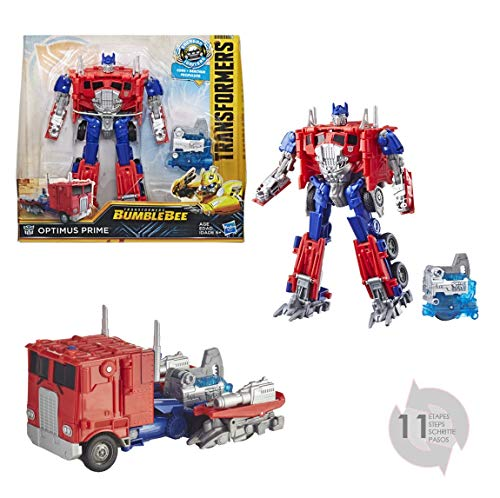 TRANSFORMERS Saga - Robot propulsion Optimus Prime camion Nitro series 18cm - Jouet transformable 2 en 1