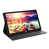 Portable Gaming Monitor,For Nintendo Switch,10.8'' 1920×1080P IPS Screen Display With USB-C/HDMI Video Input,PD Fast Charge Supported,Integrated Speakers For Raspberry Pi 3 B+,PS4,Xbox,Windows(7/8/10)