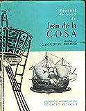 Journal de bord de Jean de la Cosa (second de Christophe Colomb)