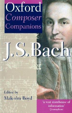 J.S.Bach (Oxford Composer Companions)