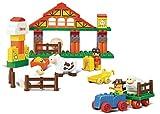 Sluban M38-B6005 Lego Happy Farm Building Block Toy, Multi Colour