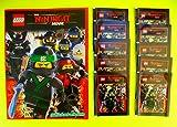 Blue Ocean - The Ninjago Movie Sammelalbum + 10 Booster Packungen (50 Sticker)