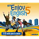 New Enjoy English 5e - Coffret CD audio classe