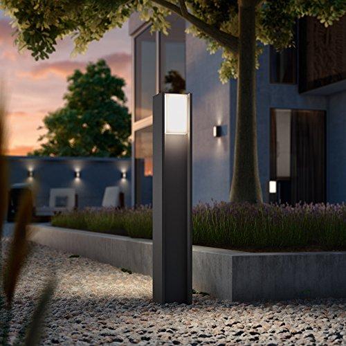 Philips Hue LED Wegeleuchte Turaco Anthrazit inkl. Hue White | Hue-Außenleuchte, Stehleuchte, Outdoor