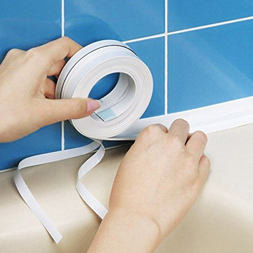 Bluelover Cucina Bagno parete sigillato con nastro impermeabile muffa Prova