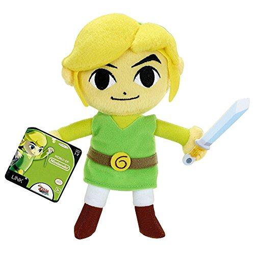 Mario Bros - Mundo de Nintendo, Legend of Zelda Link Plush, 15 cm (Jakks JAKKNINPLUSHLNEWLINK)