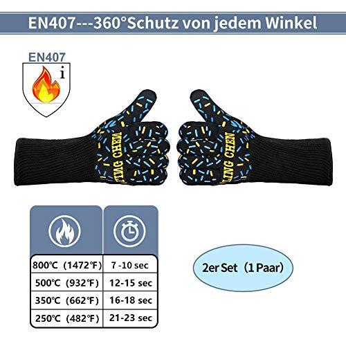 Zoom IMG-1 dinoka guanti grigliati da forno