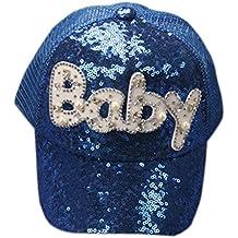 QinMM Gorra de Béisbol de Las Lentejuelas del bebé Niños Niñas 45ca721a13b