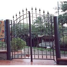 Cancello in ferro for Panchina ferro battuto amazon