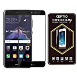 Huawei P8 LITE 2017 4G/LTE Pellicola Protettiva FULL COVER nera in Vetro Temperato 9H premium FULL COVER - Tempered Glass Pellicola Protettiva Schermo per Huawei Ascend P8 LITE 2017 - XEPTIO accessori