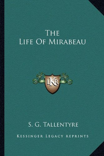 The Life of Mirabeau