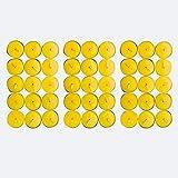 45x Citronella Kerze mit frischem Zitronenduft - Anti Mücken Kerze mit bis zu 5h Brenndauer + Gratis Anzündstab & E-Book