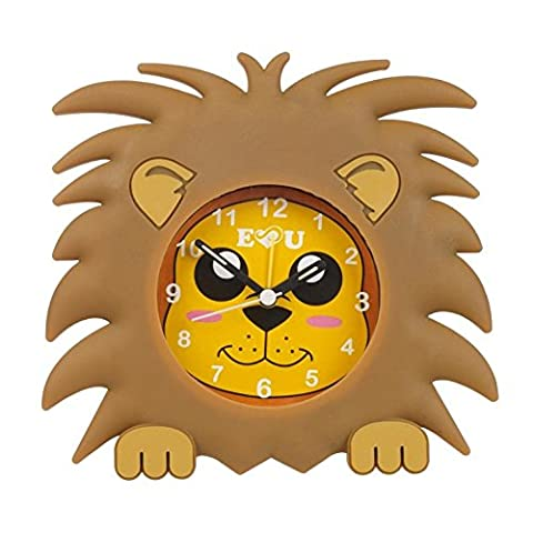 Aniclock Alarm Clock time teacher a perfect gift for Boys and Girls, the easy to read face vibrant colours makes time teaching fun a perfect alarm clock for bedroom Play room Baby nursery décor by Aniworld