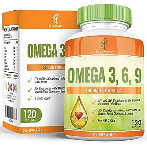 Earths DEsign Omega 3 olio di pesce,
