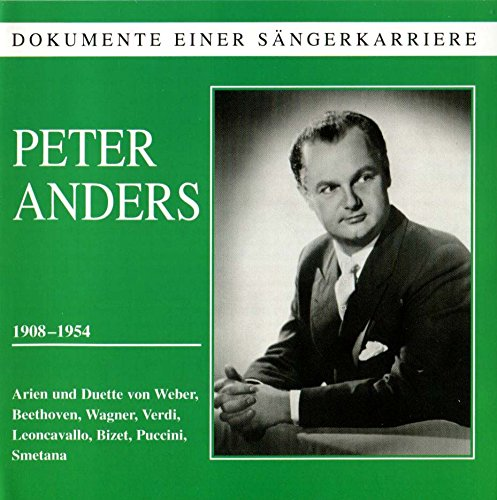 Peter Anders : Ténor - Arias et Duos