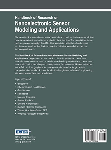 Handbook of Research on Nanoelectronic Sensor Modeling and Applications (Advances in Computer and Electrical Engineering)