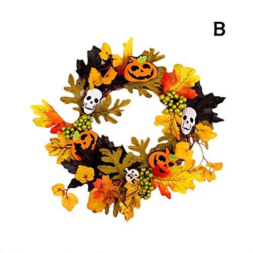 Halloween-Deko Halloween Party Requisiten Decoración De Fiesta Decoración De Halloween Linterna De Calabaza Led Iluminado Para Colgadores De Puertas Colgante De Espuma Para Niños Fiesta De Halloween