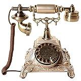 VOIP Telefone Die neuen High-End-europäischen Stil antike Wahltelefon American Pastoral kreative Heimat Retro altmodischen Telefon mit Wählscheibe Retro Telefon