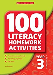 100 Literacy Homework Activities Year 3